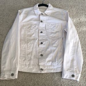 Jackets & Blazers - Darling White Denim Jacket